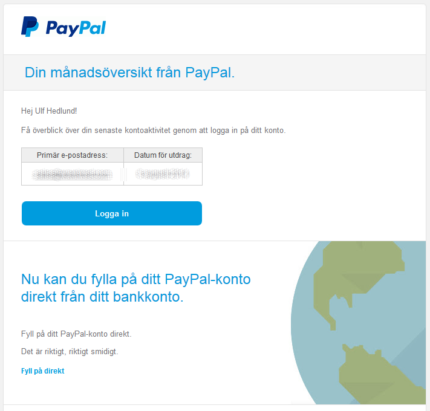 paypal topup